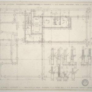 Doctor's Clinic for Nesselrode, Laing, Peters, and Francisco -- Floor Plan