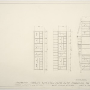 Johnson Residence -- Preliminary Sketches: Exterior Cross Section