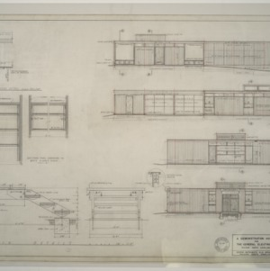 General Electric Demonstration House -- Elevations and details