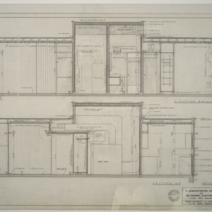 General Electric Demonstration House -- Sections
