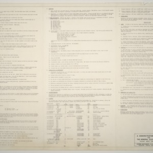 Demonstration House, General Electric Co. -- Specifications list (2 of 2)