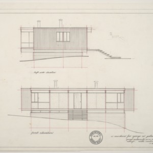 George W. Poland Residence -- Elevations
