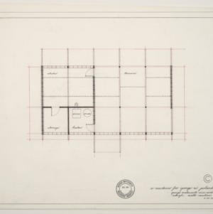 George W. Poland Residence -- Upstairs Floor Plan