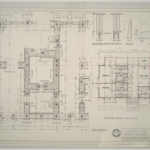 George W. Poland Residence -- Plan and Plan Details