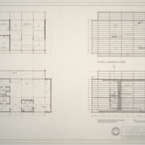 George W. Poland Residence -- Framing and Wiring