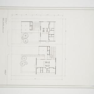 Plot plan, 3 bed room house
