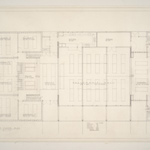 Community Church of Chapel Hill -- First Floor Plan