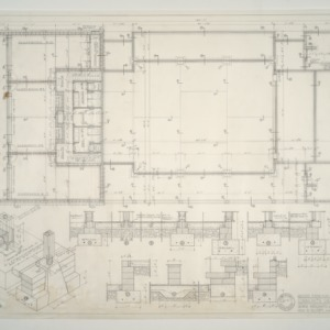Community Church of Chapel Hill -- Ground Floor Plan and Foundations