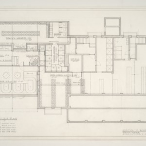 Bellfonte Country Club -- Ground Floor Plan