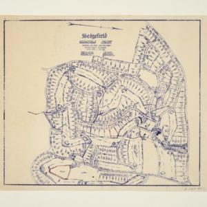 E.K. Thrower Residence -- General Lot Plan