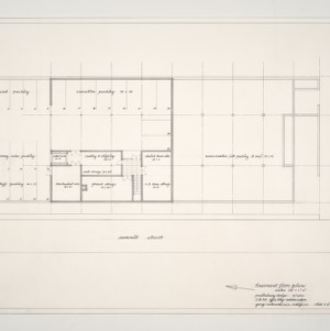I.B.M. Building -- Basement Floor Plan