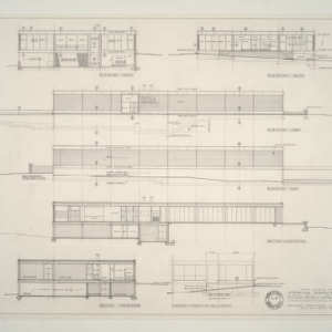 IBM Corp. Office Building -- Elevations and Sections