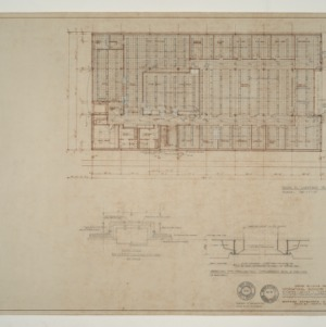 IBM Corp. Office Building -- Electrical Plan and Details: Main Floor