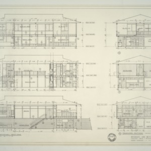 Watkins Residence -- Interior Elevations and Sections