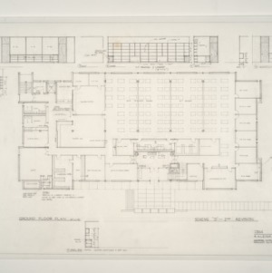 I.B.M. Branch Office Building -- Ground Floor Plan