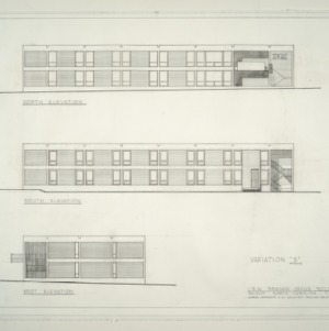 I.B.M. Branch Office Building -- Elevations