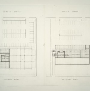 I.B.M. Branch Office Building -- Plot Plan