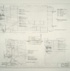 I.B.M. Branch Office Building -- Plumbing Plan and Fixture Schedule