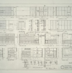 I.B.M. Branch Office Building -- Interior Elevations and Details