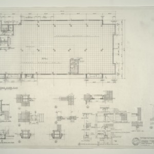 I.B.M. Branch Office Building -- Second Floor Plan, Details