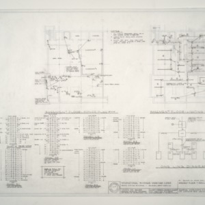 I.B.M. Branch Office Building -- Basement Plans and Details