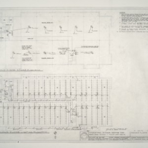 I.B.M. Branch Office Building -- Second Floor Plan