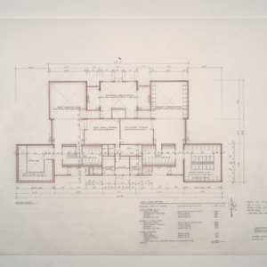 Park Shore Housing -- Bath House #1 Floor Plan