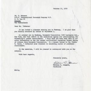 D.E.J. International Research Co. N.V., Holland, 1970