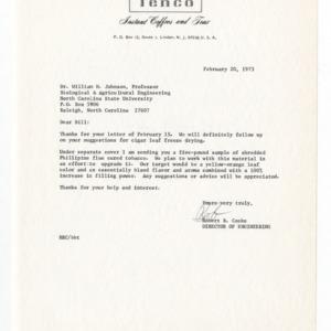 Tenco, Division of Coca-Cola, 1972-1973