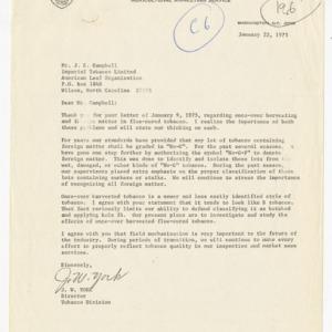 Imperial Tobacco Co., Ltd, close-grown tobacco & cut strip, 1973-1978