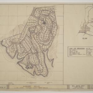 "Hickory Hills on Lake Hickory -- Land Use Study - Alternative ""A"""