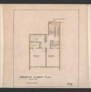 EDC Apartment Complex -- Second Floor Plan