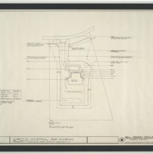 Airco Industrial Gas Division, Research Triangle Park -- Planting Plan