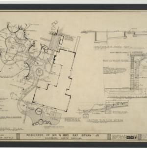 Bryan Residence -- Staking Plan, Construction Details