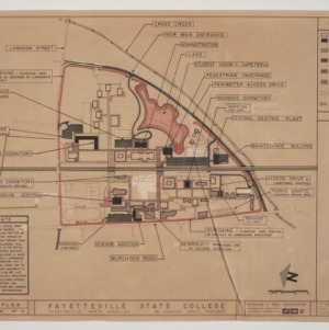 Fayetteville State College -- Master Plan -- Initial Development
