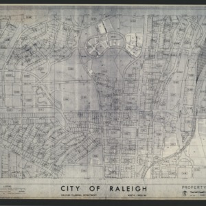 Pullen Park -- City of Raleigh Property Map