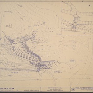 Pullen Park Phase VI Construction -- Area South of Railroad