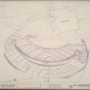 Pullen Park Phase VI Construction -- Area North of Railroad