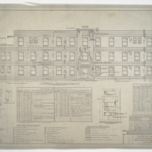 Front Elevation and Schedules