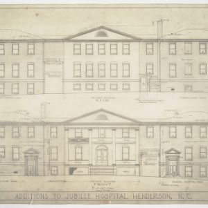 Front and Rear Elevations