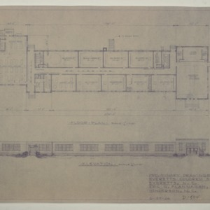 Elevation and Floor Plan