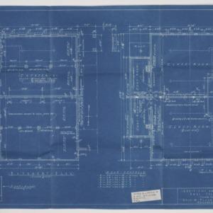 Basement and first floor plan