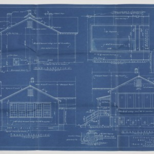 Elevations and interior elevations