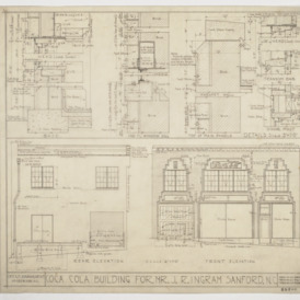 Elevations and window sections