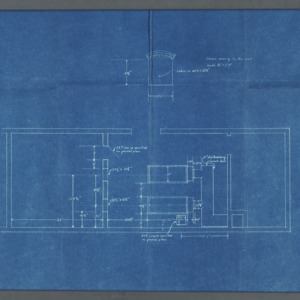 Boiler room floor plan