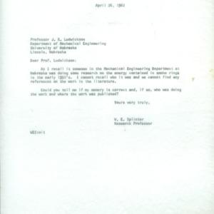 Dusting and Spraying Correspondence (Folder 2 of 3), 1962-1965