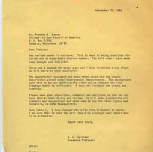 Dusting and Spraying Correspondence (Folder 3 of 3), 1965-1967