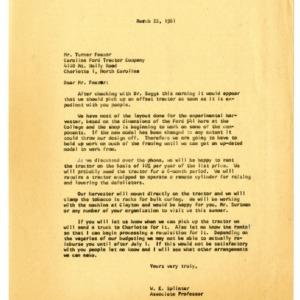 Equipment on Loan Correspondence, 1955-1967