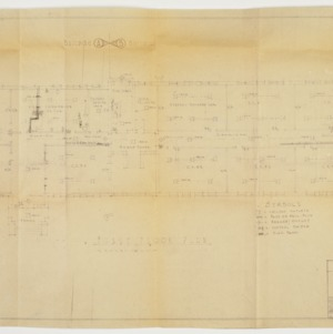 First floor plan and wiring plan
