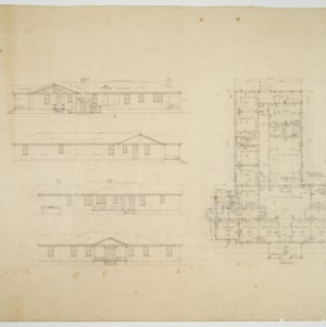 Elevations and floor plan